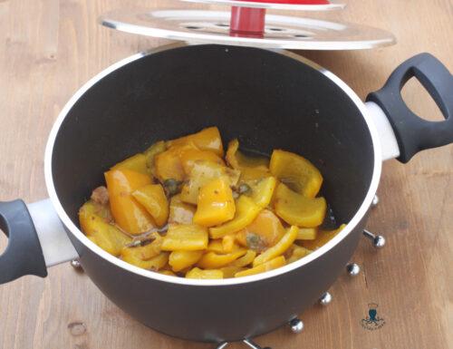 Peperoni in padella con magic cooker, ricetta facile e veloce