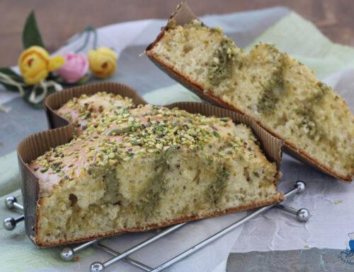 Torta colomba farcita al pistacchio, ricetta golosa di facile preparazione