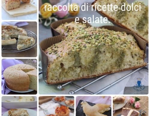 Ricette di Pasqua, raccolta di ricette dolci e salate.