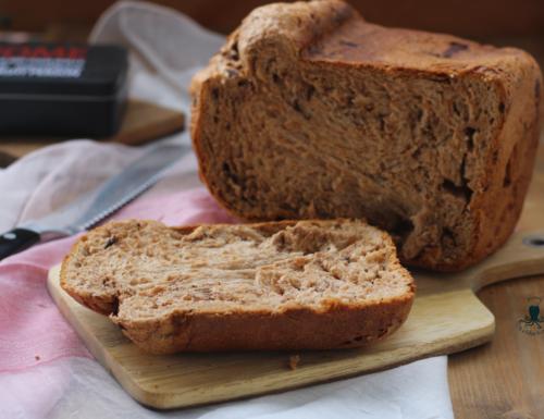 Pan brioche alla nutella e cioccolato, ricetta con macchina del pane
