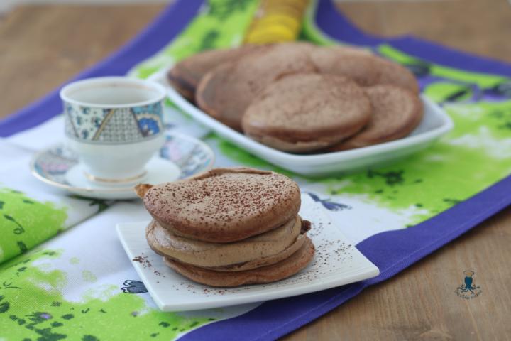 Pancake fit con farina avena al cioccolato