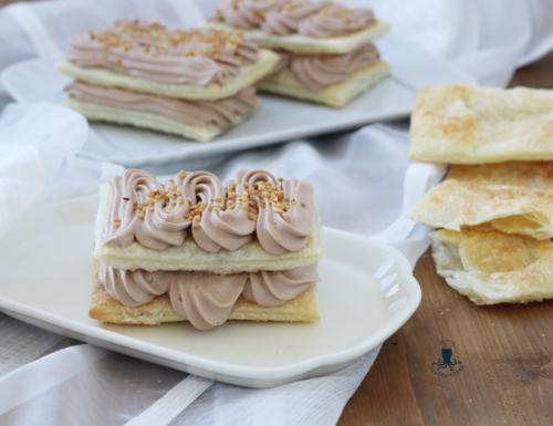 Sfoglie con crema paradiso alla nutella, ricetta golosa.