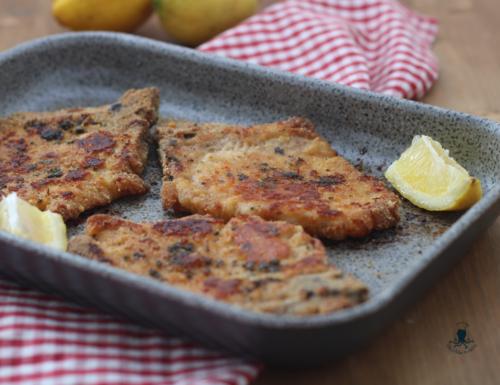 Braciole di maiale impanate al forno, ricetta facile