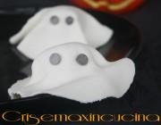 Fantasmini di Halloween ripieni, ricetta dolce