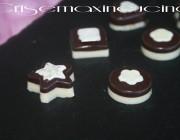 Cioccolatini black and white, ricetta dolce