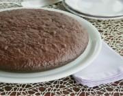 Torta al cioccolato, cotta nel fornetto Estense