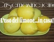 L'uso del limone in casa