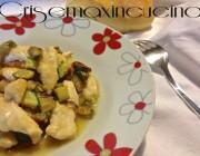Straccetti di pollo con zucchine, ricetta light