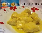 Pollo al curry e panna, ricetta secondo piatto