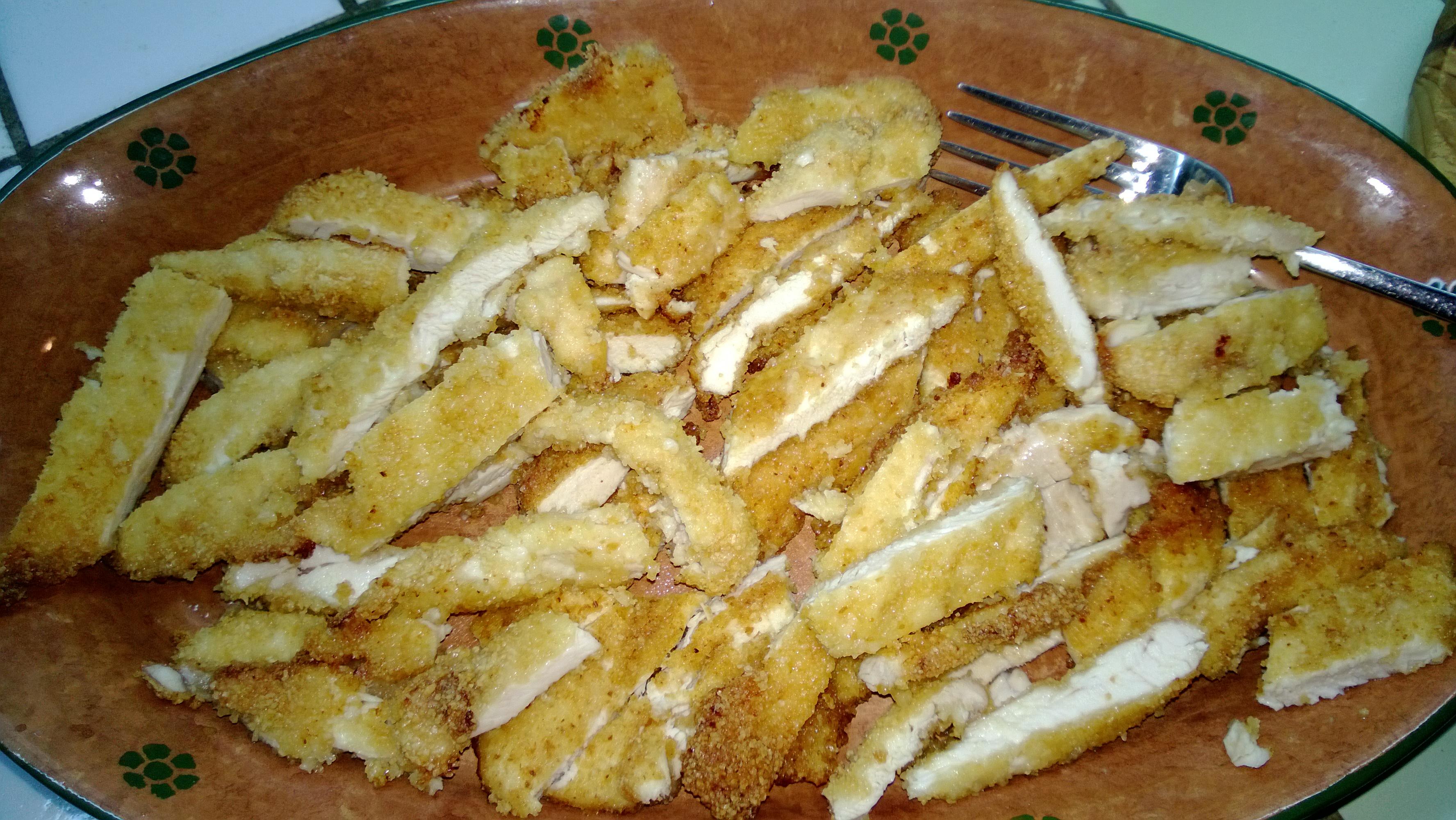 Tagliata di petto di pollo nella mia cucina for Cucinare tagliata