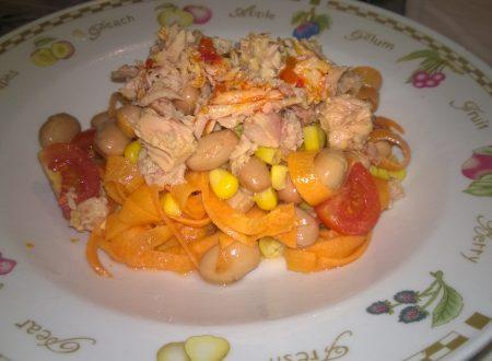 insalata di tonno messicana