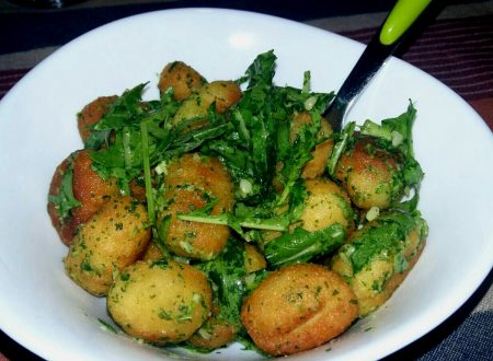 insalata di gnocchi fritti