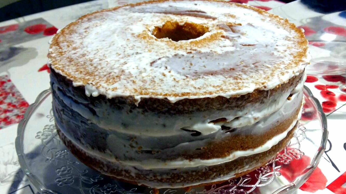 naked chiffon cake