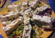 terrina di formaggio e frutta secca