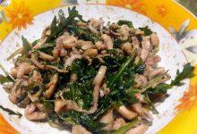 insalata tiepida di calamari
