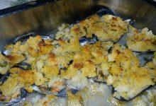 cozze gratinate con panatura croccantosa