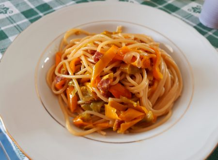 spaghetti con peperoni epanna