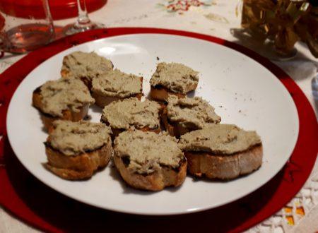 crostini con crema di carciofi