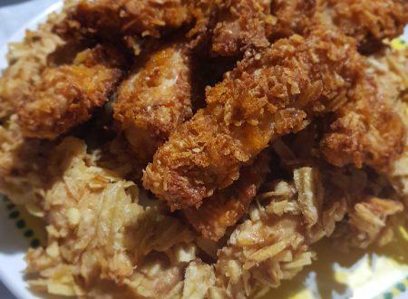 bastoncini di pollo croccantissimi