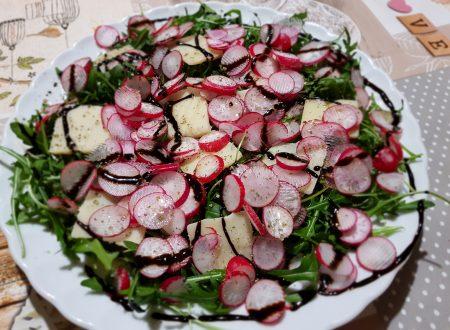 insalata di ravanelli e rucola