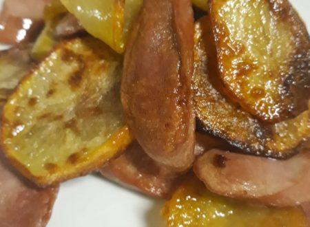 wrustel e patate al forno