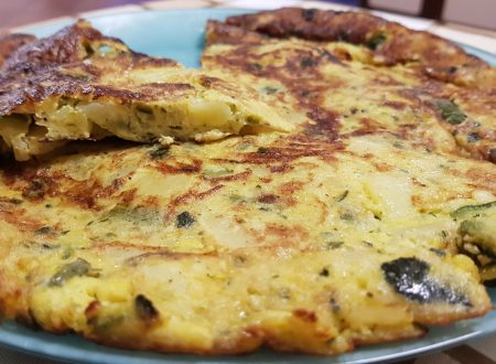 tortillas di zucchine e patate