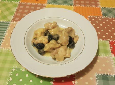spezzatino di pollo con olive