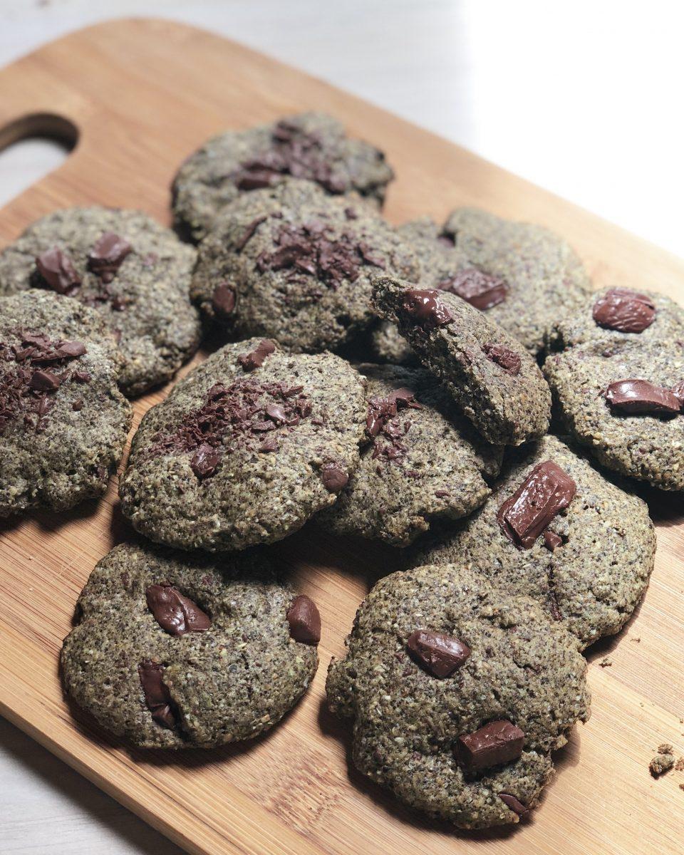 biscotti canapa e spirulina