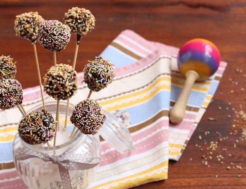 Cake pops salame di cioccolato senza uova né burro