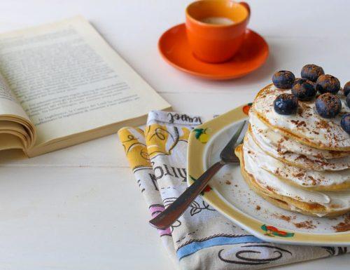 Pancakes senza zucchero con farina d'orzo