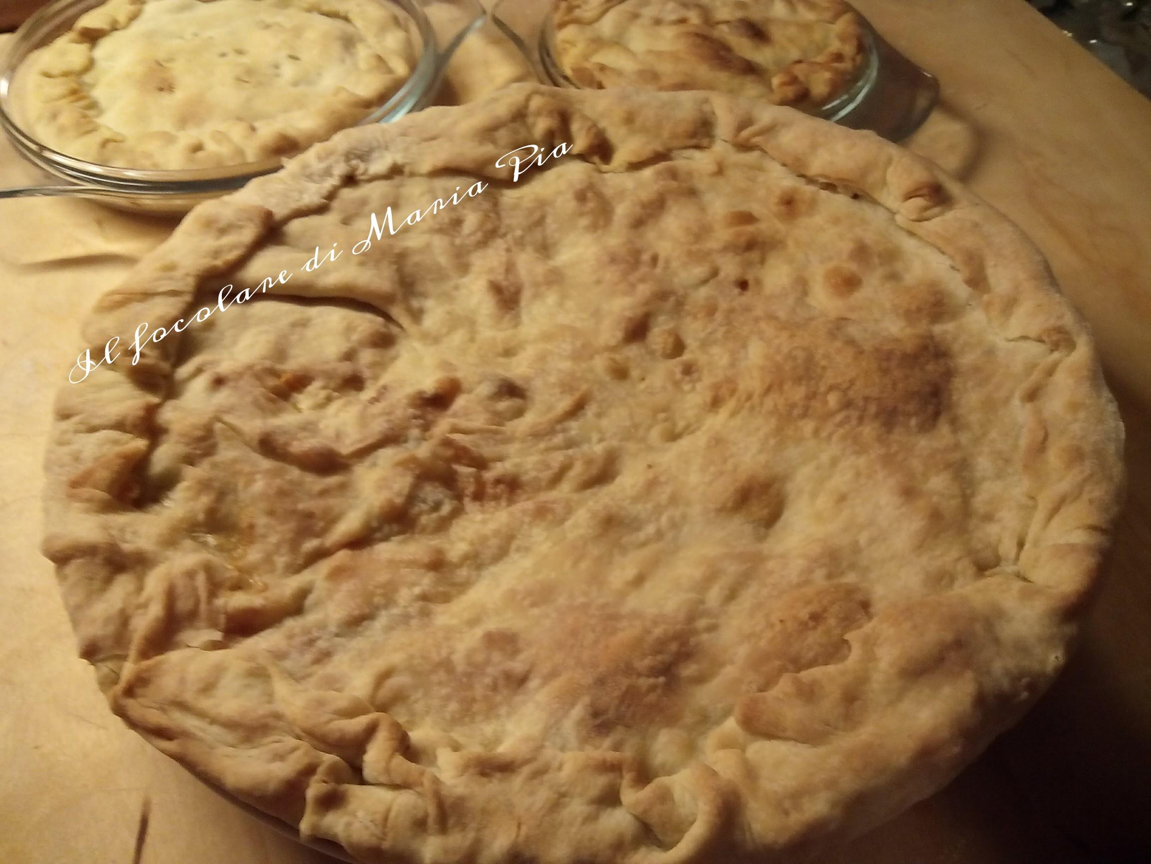 torta di carciofi di mamma Bianca