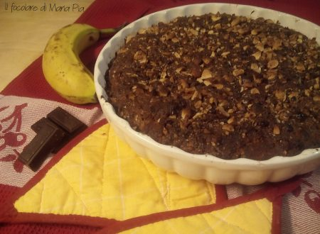 La mia Banana-Chocolate Chip Wacky Cake per il club del 27