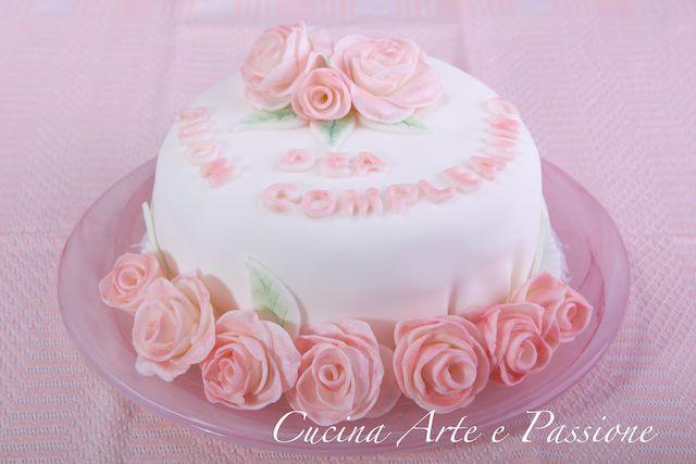 Torta Buon Compleanno Mamma!