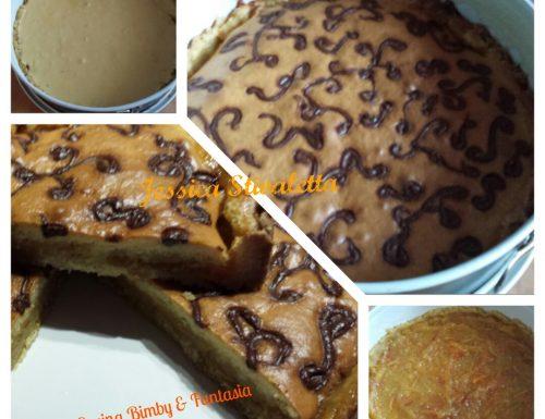 Torta-Crostata  con marmellata di arance e nutella