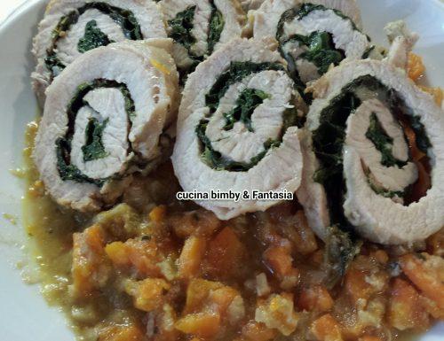 Rotolo di lonza con verdure #ricettabimby