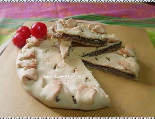 Impanada con carciofi e salsiccia #Bimby (Sardegna)