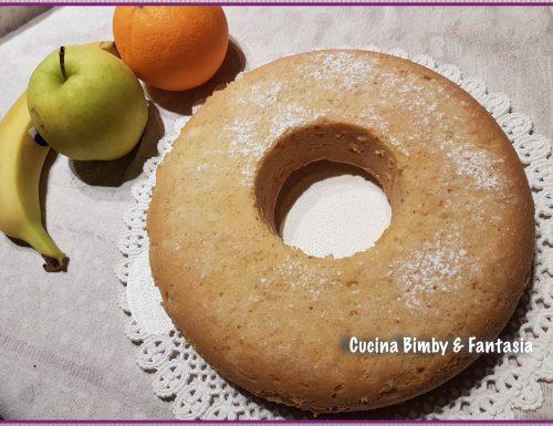 Ciambella con frutta frullata