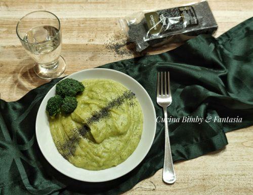 Purè di broccoli e patate con il Bimby e senza