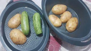 patate e zucchine al vapore
