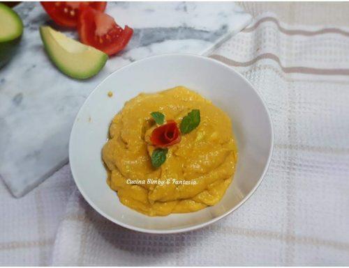 Crema di avocado e pomodori