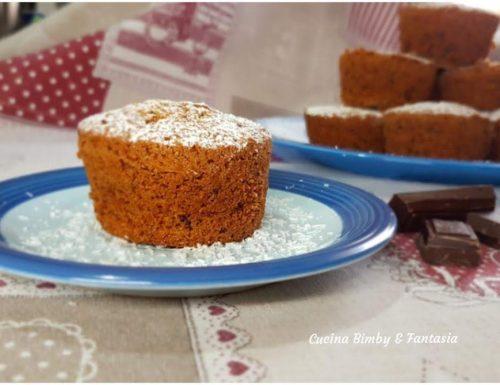 Muffin morbidissimi cocco e cioccolato con il Bimby