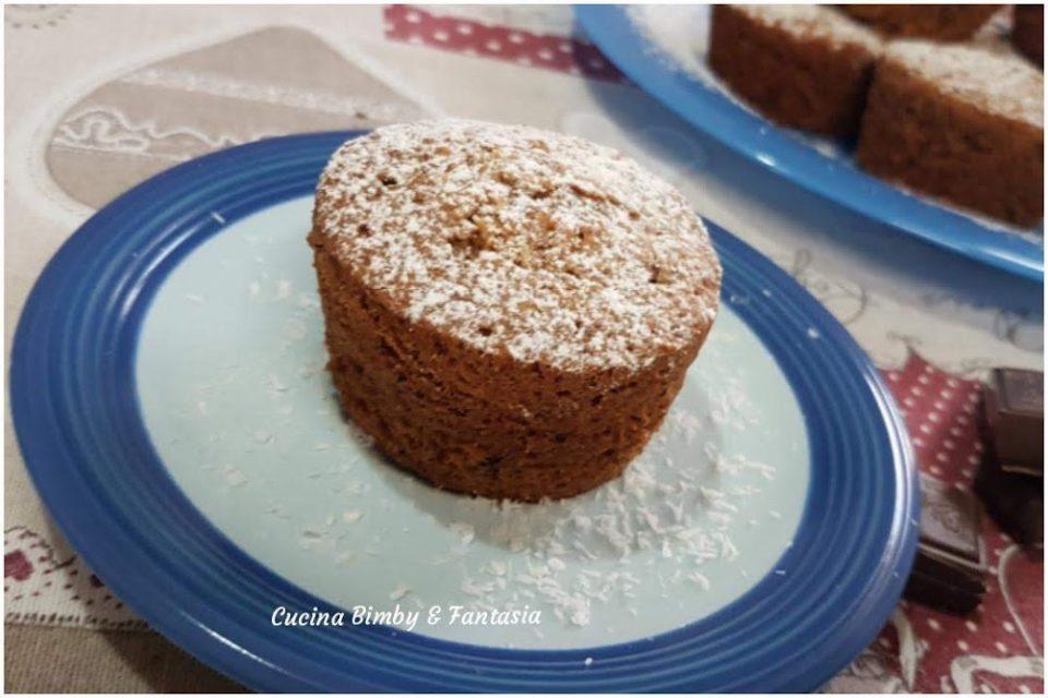 muffin morbidissimi al cocco e cioccolato