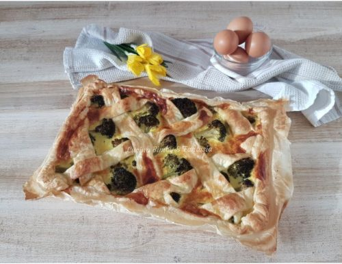 Crostata salata di broccoli
