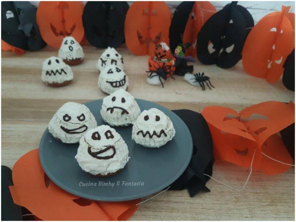 Muffin Fantasmini di Halloween