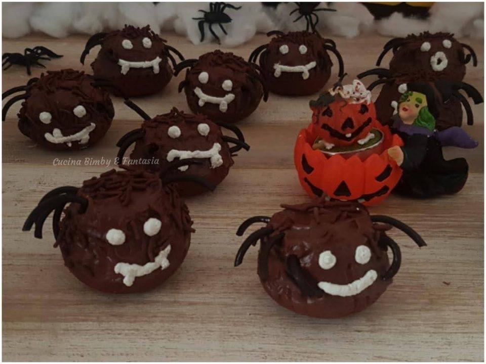 Muffin Ragni di Halloween