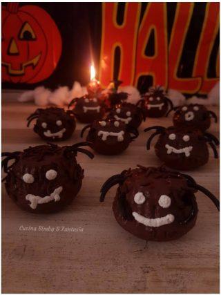muffin ragnetti di halloween
