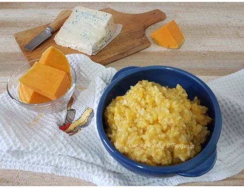 Risotto zucca e gorgonzola
