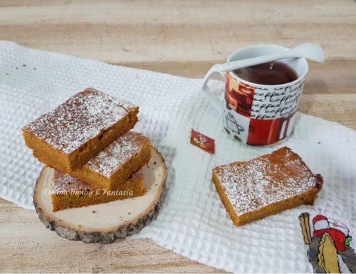 Tortine morbide di zucca e caffè