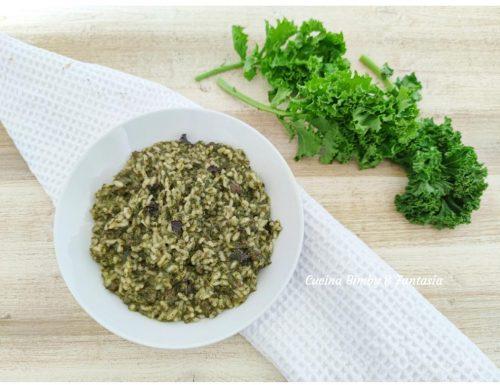 Risotto con cavolo riccio (kale) e salsiccia
