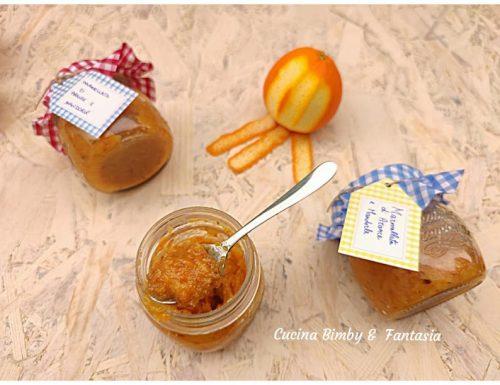 Marmellata di arance e mandorle con il Bimby